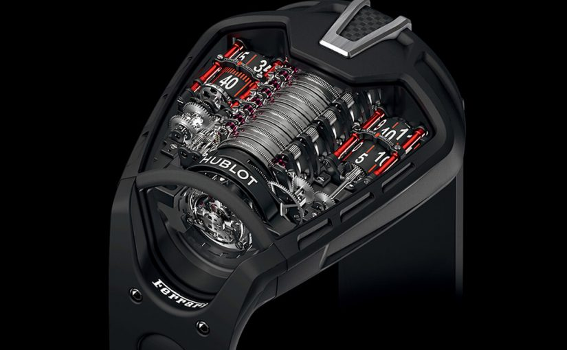 Hublot Luxury Replica Watches Join Hands With Ferrari Super Cars
