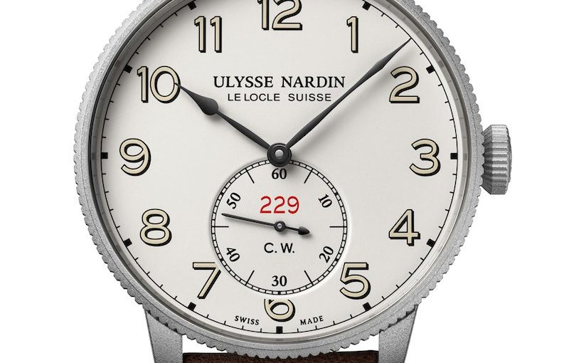 Alligator Leather Strap Ulysse Nardin Replica Watches Join Hands With Hermes