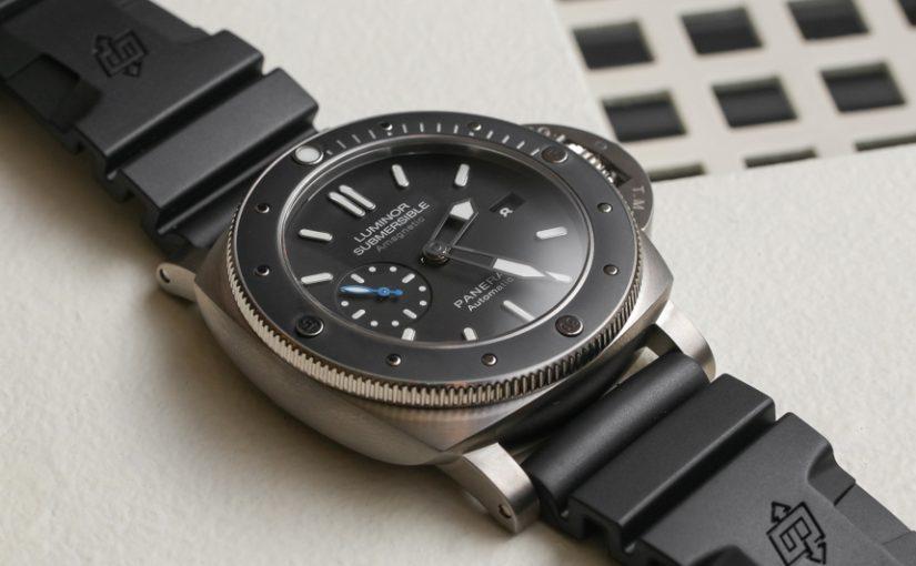 Panerai Luminor Submersible 1950 Reference 389 Ceramic Bezel Replica Watches