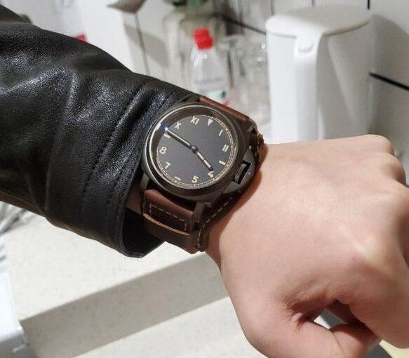 Panerai Radiomir Replica Watch With Black Dial Met All Requirements Of Modern Men
