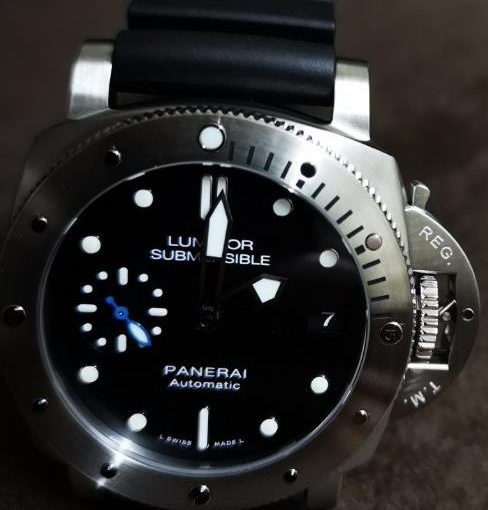 Why I Choose Panerai Submersible Replica Watch With Black Dial Eventually