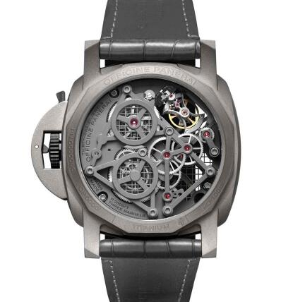 It allows the wearers to enjoy the beauty of the movement.