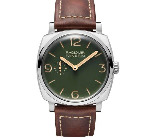 Brand-New Panerai Radiomir Replica Watches With Military Green Dials