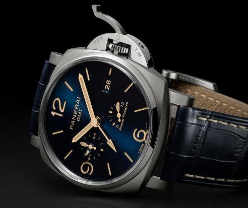 The timepiece could display the power reserve and two time zones.