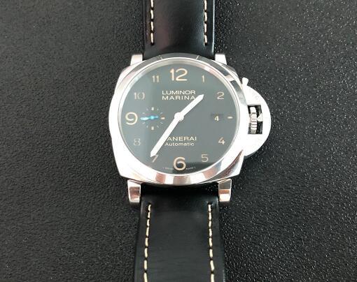 Panerai Luminor Marina PAM01359 Replica Watches With Black Dials For Strong Men