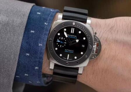 The Panerai Submersible has been one of the most popular diving watches.