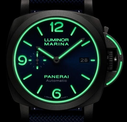 Solid Panerai Luminor Marina Fake Watches With Magic Effect