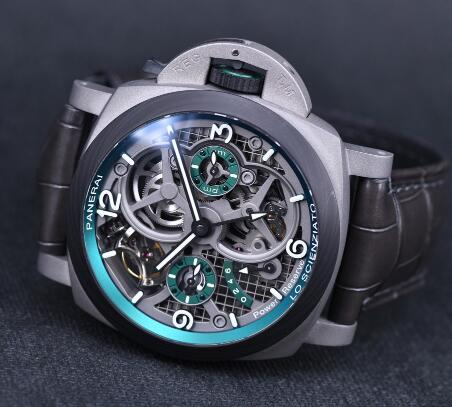 The complicated copy Panerai is good choice for men.