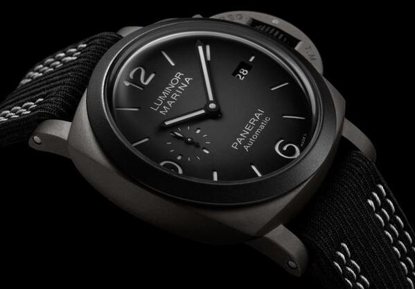 New Best Replica Panerai Luminor Marina Guillaume Néry Edition PAM01122 Watches For Sale