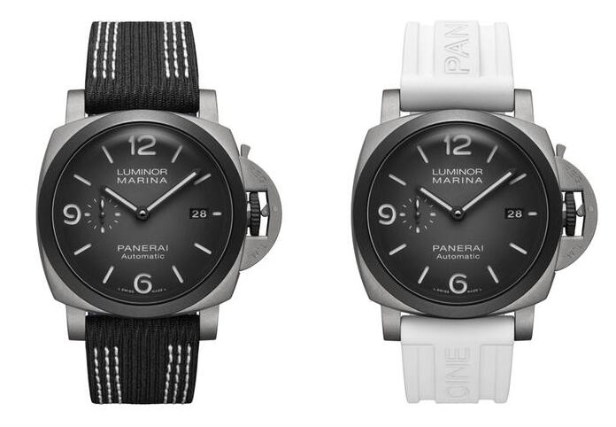 Swiss replica watches show clear time with the luminescent coating.