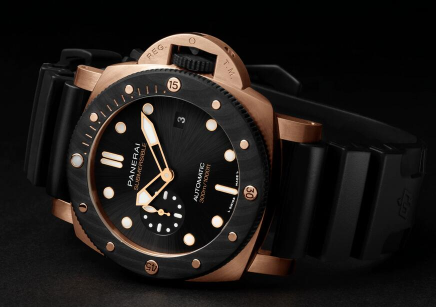 Swiss fake watches are classic with black color.